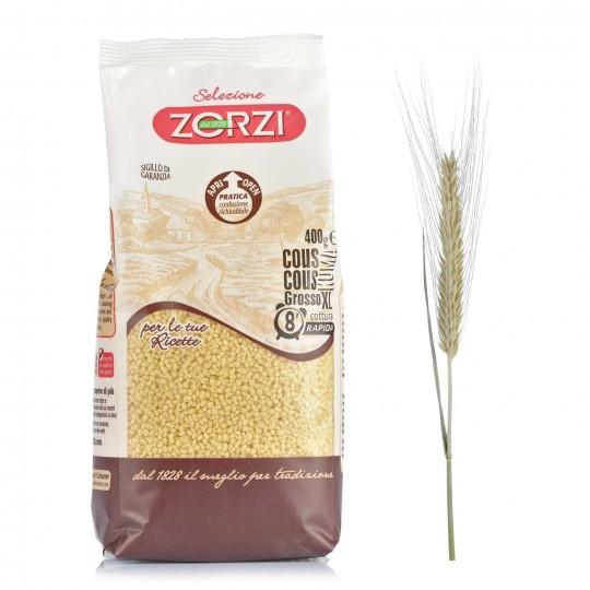 """Cous Cous grosso XL """"Zorzi"""" - 400 gr - Origine Italia"""