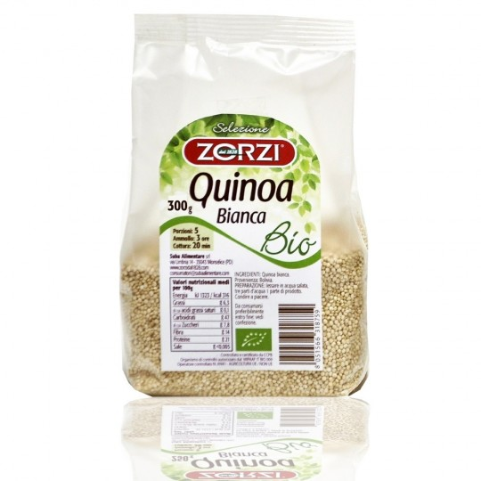 """Bio Quinoa bianca """"Zorzi"""" 300 gr"""