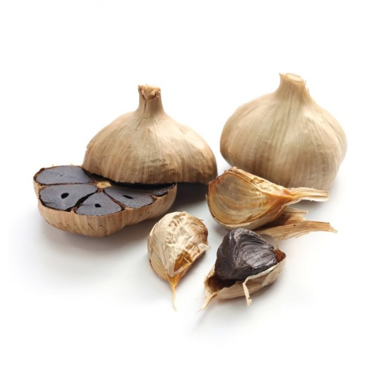 Black garlic - tray of 100 gr