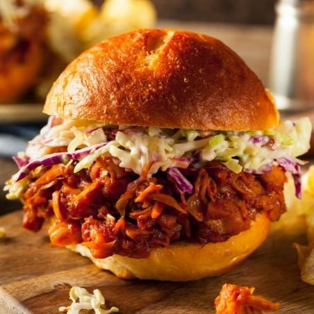 Hamburger di Jackfruit fresco su FruttaWeb.com