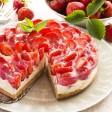 Ricetta per torta alle fragole fresche biologiche. Scopri la ricetta su FruttaWeb.com