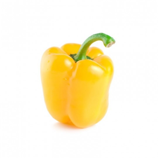 Yellow Organic pepper ALmaverde Bio: shop online at Almaverde Bio