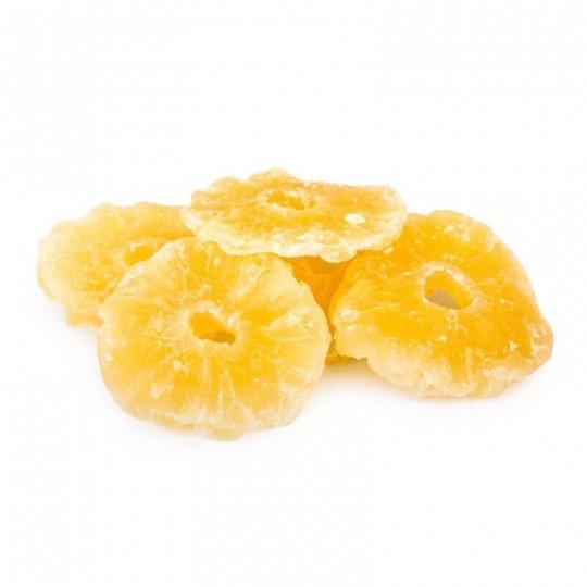 Ananas disidratata a fette: Acquista Online su FruttaWeb.com