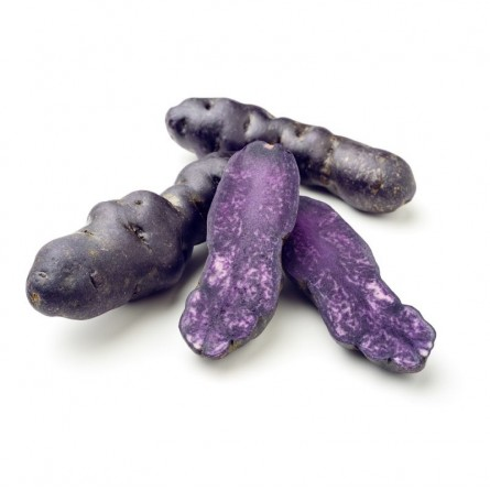 Patate viola Vitelotte in vendita su FruttaWeb.com