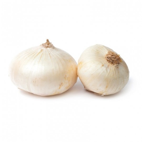 Fresh white flat onion 1 kg