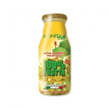 Succo di Frutta Bio Uva Mela e Zenzero: Acquista Online su FruttaWeb