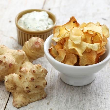 Topinambur chips ricetta su FruttaWeb