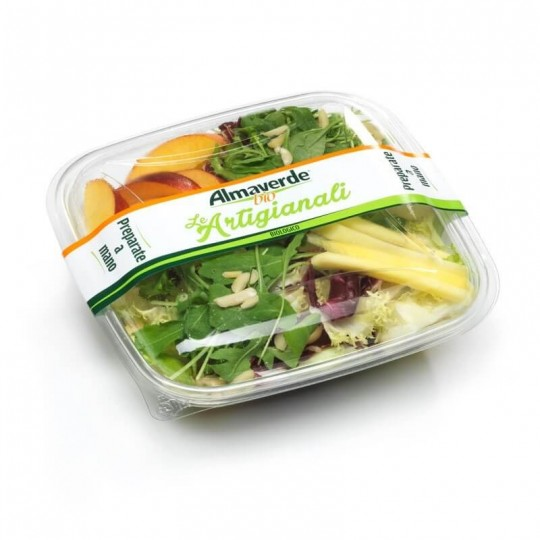 Flower and Fruit Organic Salad