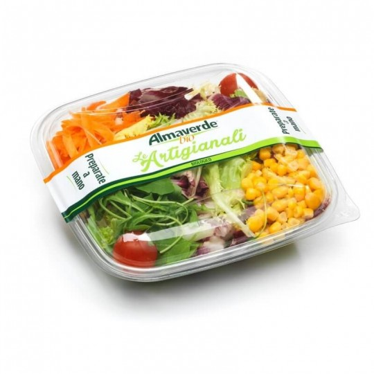 Corn and Carrot Organic Salad