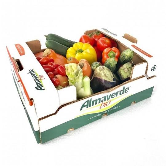 Cassetta di Verdura Biologica Almaverde Bio: Acquista Online su FruttaWeb.com