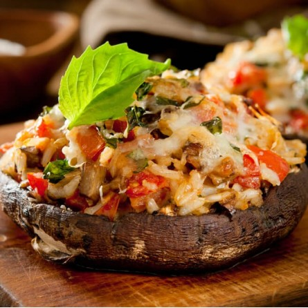 Funghi Portobello freschi - 1,5 kg - Origine Olanda: online su FruttaWeb
