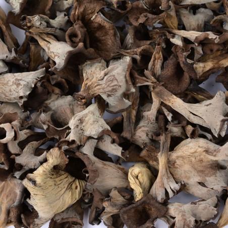 Funghi Trompet de la Mort secchi (Trombette della morte): disponibile su FruttaWeb.com