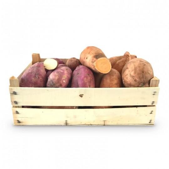 Cassetta di Patate colorate: Acquista Online con un Click su FruttaWeb.com