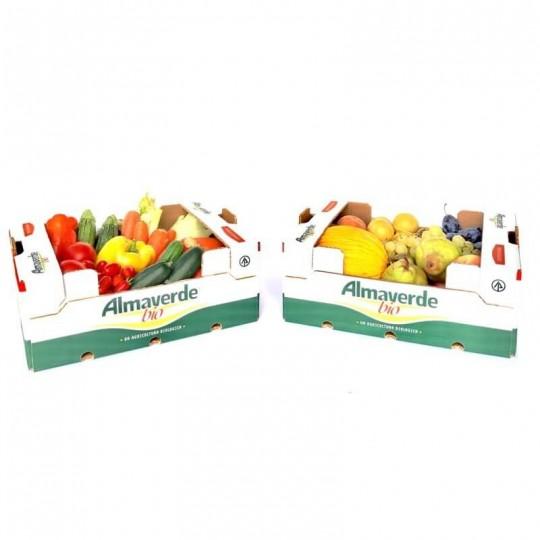Cassetta di Frutta e Verdura Biologica mista di stagione Almaverde Bio