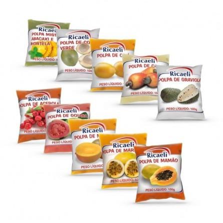 Purea di Frutta Surgelata Mix Top 10 SignorSucco