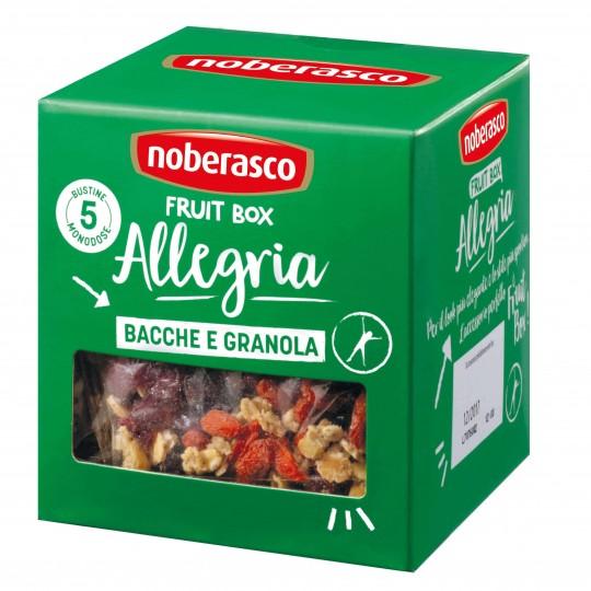 Bacche e granola Fruit Box Allegria Noberasco