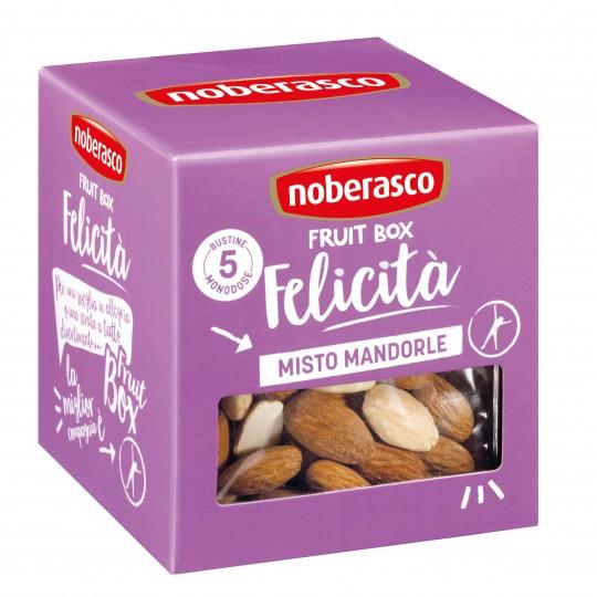 Misto mandorle Fruit Box Felicità Noberasco: acquista ora su FruttaWeb.com