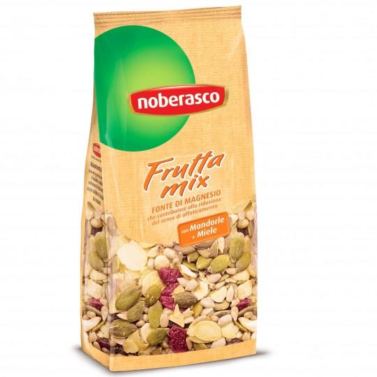 Mandorle e miele Frutta Mix Noberasco: disponibile ora su FruttaWeb.com