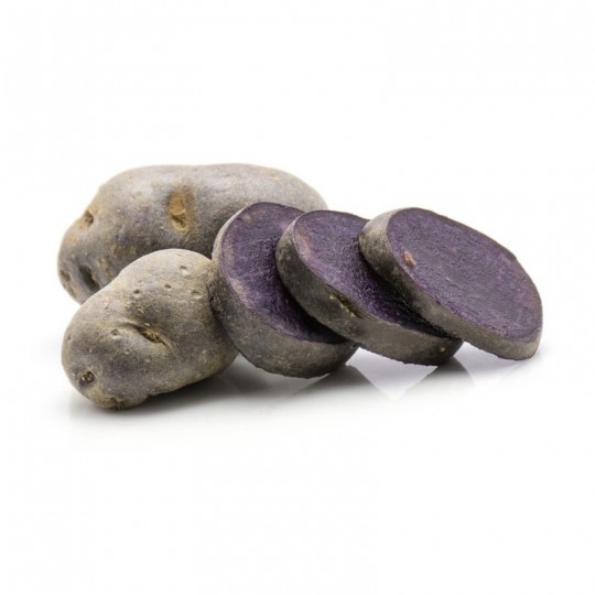 Potatoes Vitelotte for sale on FruttaWeb.com