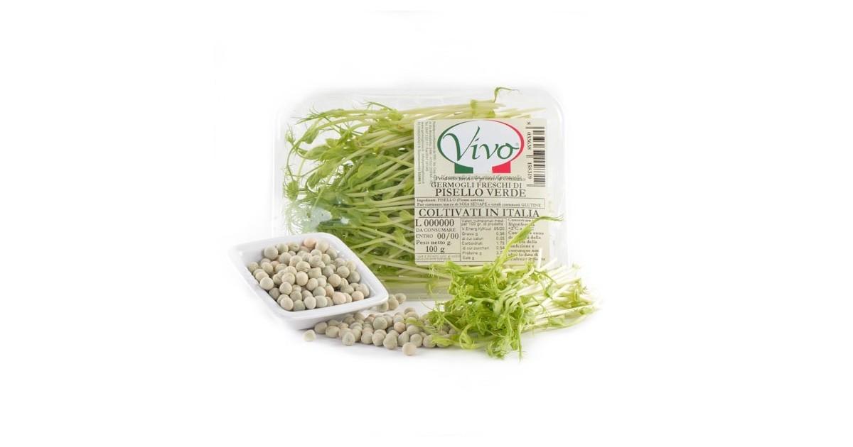 Germogli di Pisello Verde - 100 gr