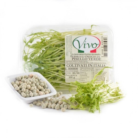 Green Peas sprouts - 100 gr