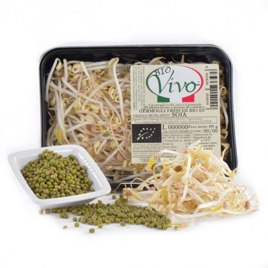 Mungo Bean's sprouts - 150 gr