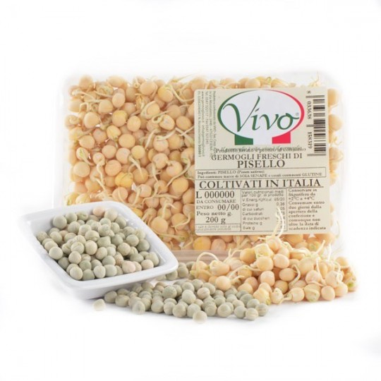Peas sprouts - 200 gr