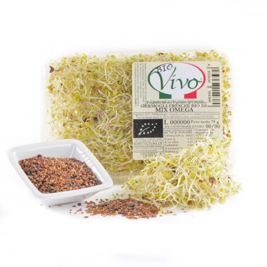 Mix Omega 3 sprouts - 75 gr