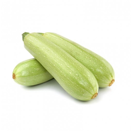 Light green courgettes - 500 gr