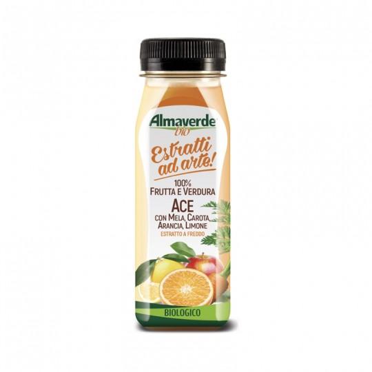 Estratto di 100% Frutta e Verdura Biologiche Gusto Ace AlmaverdeBio