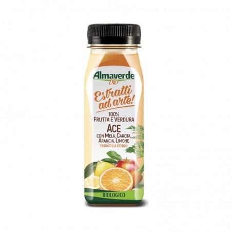 Estratto di 100% Frutta e Verdura Biologiche Gusto Ace AlmaverdeBio Acquista online su fruttaweb.com