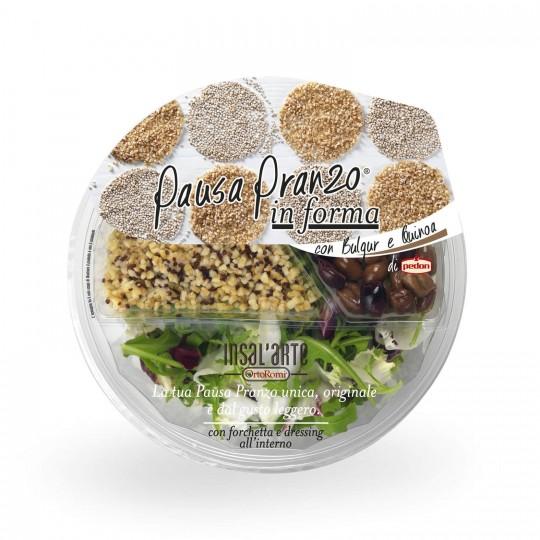 "Insalata Bulgur e Quinoa ""Pausa Pranzo"""