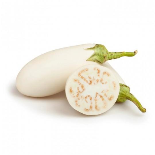 Round black eggplants - 1 kg - Origin Italy