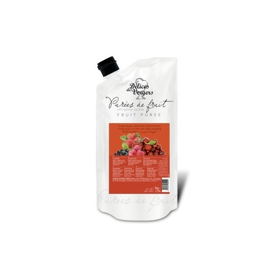 natural Raspberries pulp