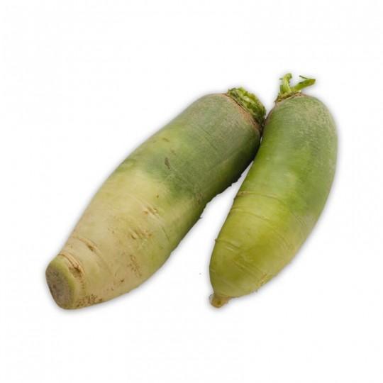 Radish Green skin and white flash 1 Kg