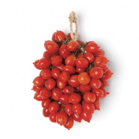 Pomodorini del Piennolo del Vesuvio DOP rossi a pendolo del Vesuvio in  cartone