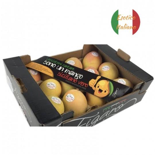 Cassetta di Mango Siciliano Figaro in vendita online su FruttaWeb.com