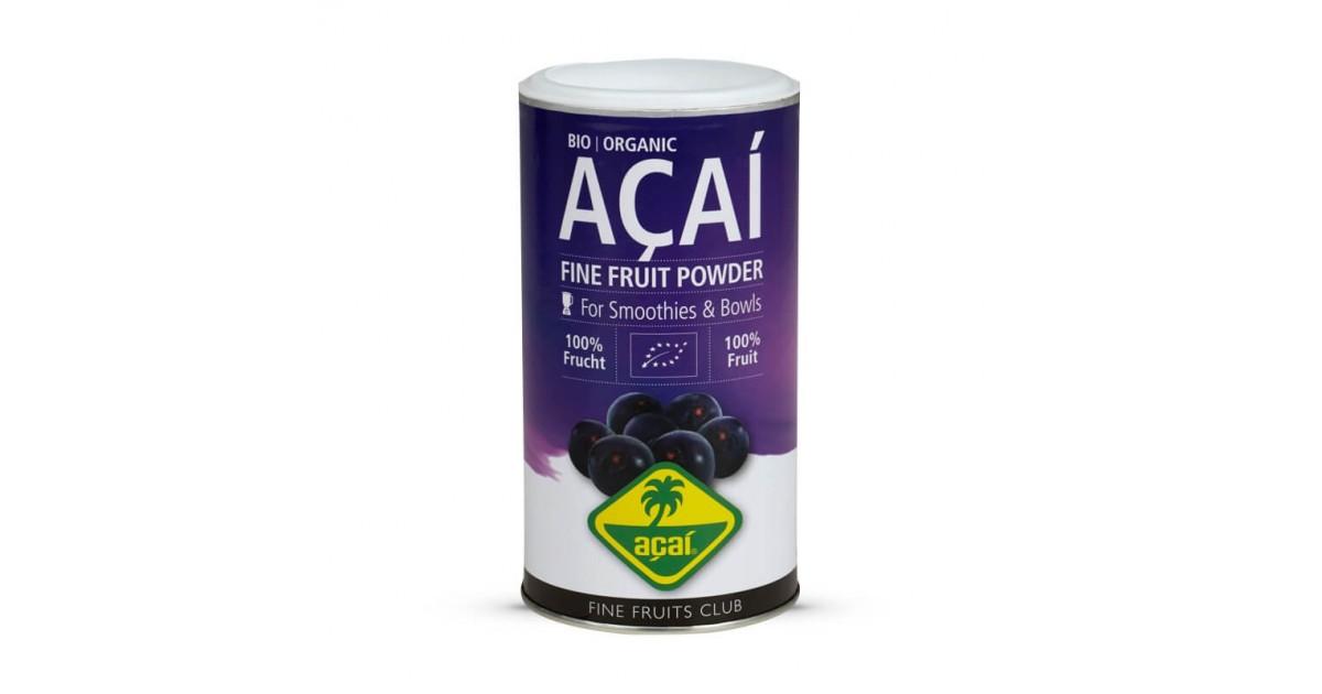 Açai Bio liofilizzato Acquista Online su fruttaweb.com