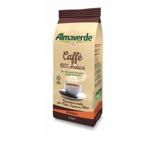 Caffè 100% Arabica Biologico Almaverde Bio