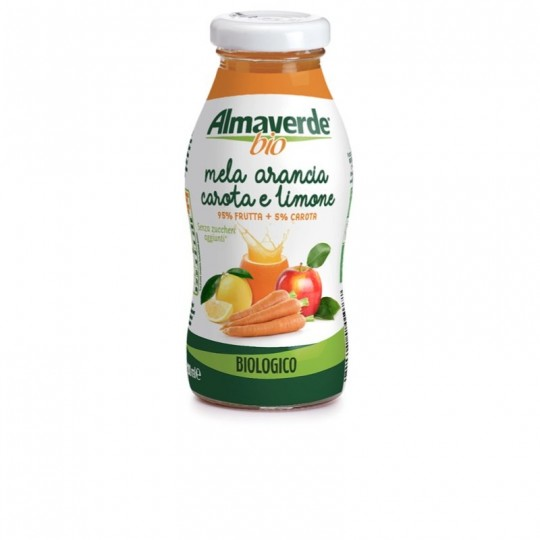 Bevanda Mela, Arancia, Carota e Limone Biologica Almaverde Bio Ambiente