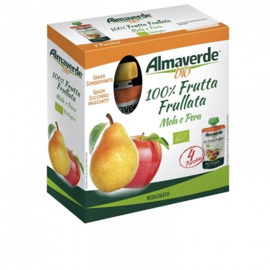 Frutta Frullata Mela e Pera Biologica Almaverde Bio Ambiente Acquista Online su fruttaweb.com