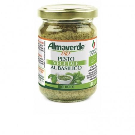 Pesto Vegatale al Basilico Biologico Almaverde Bio