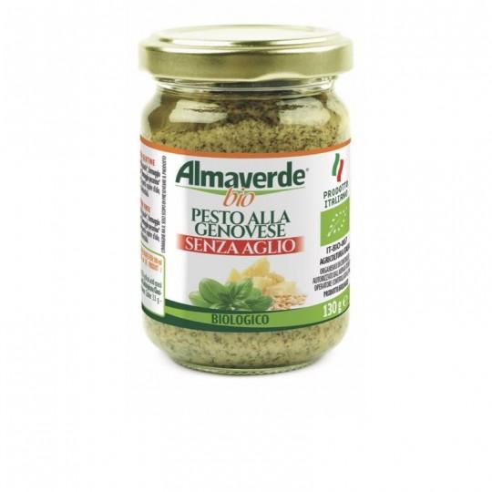 Pesto alla Genovese Biologico Senza Aglio Almaverde Bio Acquista Online su fruttaweb.com