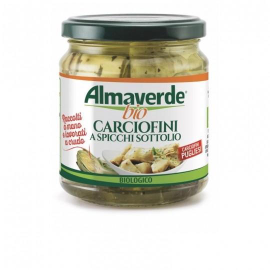 Carciofini a Spicchio Sott'Olio Almaverde Bio