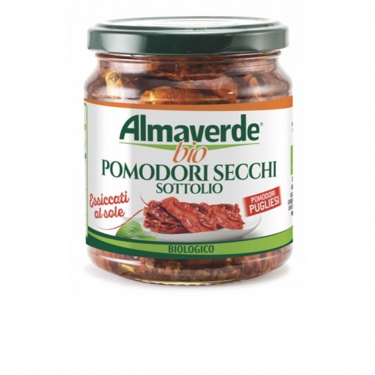 Pomodori Secchi Biologici Sott'Olio Almaverde Bio