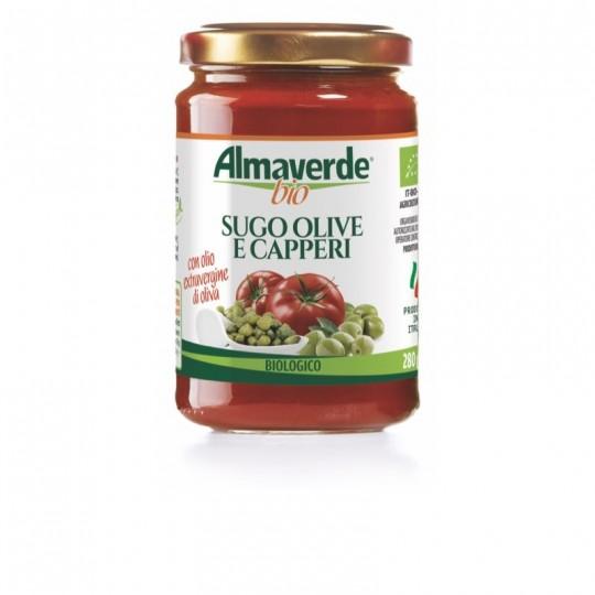Sugo Olive e Capperi Biologico Almaverde Bio