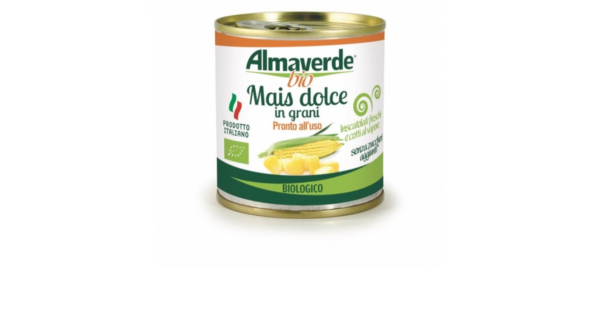 Mais Dolce in Grani Biologico Almaverde Bio Acquista Online