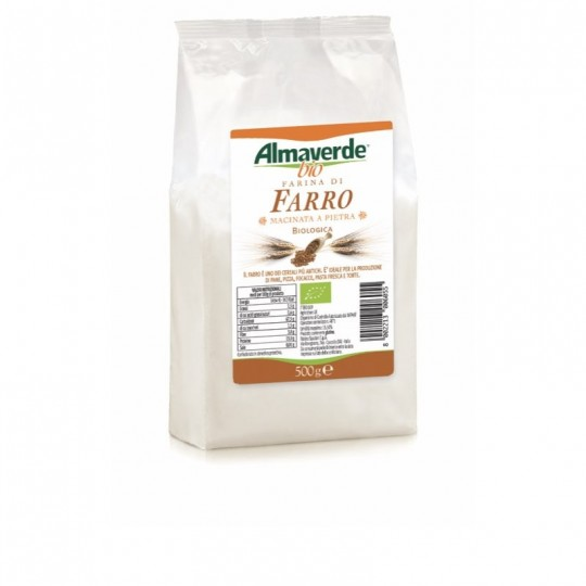 Farina di Farro Biologica Almaverde Bio Acquista Online su FruttaWeb.com