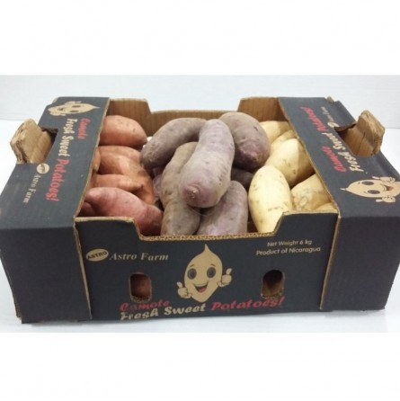 Patate Dolci Arcobaleno del Nicaragua Acquista online su fruttaweb.com