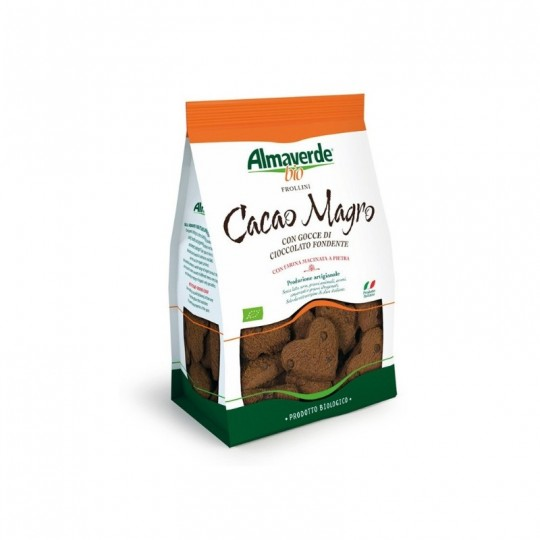 Frollini al Cacao Magro Biologici Almaverde Bio Acquista Online su fruttaweb.com